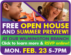 Join us at our FREE Open House, January 26 at 5pm - click to RSVP!!